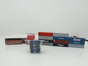 """Schaal H0 Piko 56200 Dreiset Container, P&O 56220 20"""" Container K-Line 3-tlg  B-models 40"""" container """"Sloman Neptun"""" en 11 loss 40"""" containers #851"""